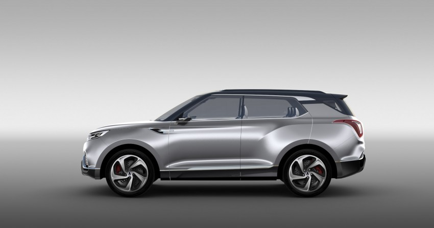 SsangYong XLV crossover concept gets Geneva debut Image #232672