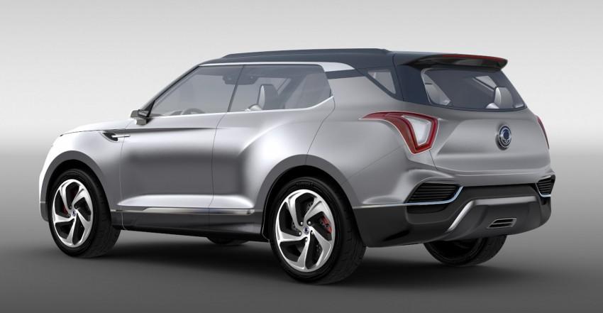 SsangYong XLV crossover concept gets Geneva debut Image #232671