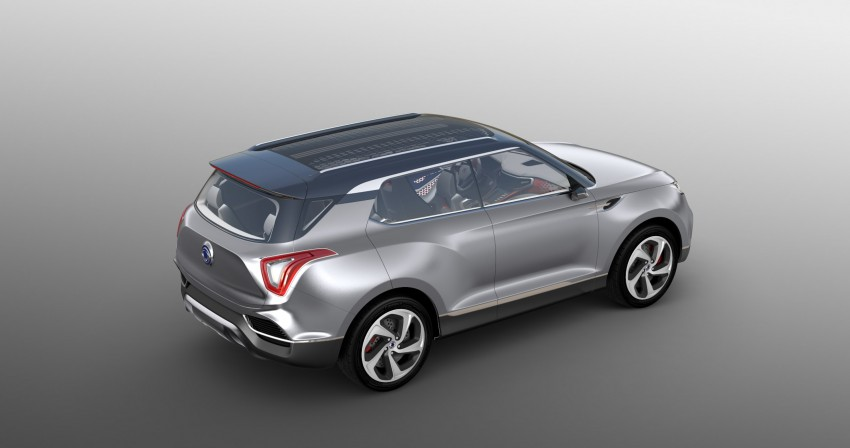 SsangYong XLV crossover concept gets Geneva debut Image #232669