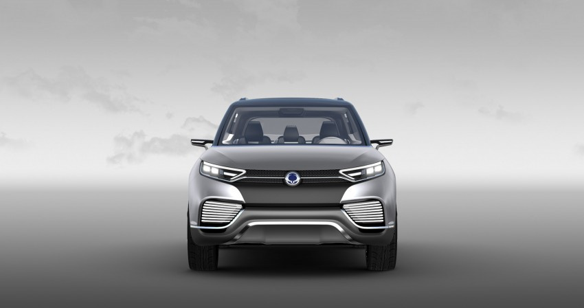 SsangYong XLV crossover concept gets Geneva debut Image #232668