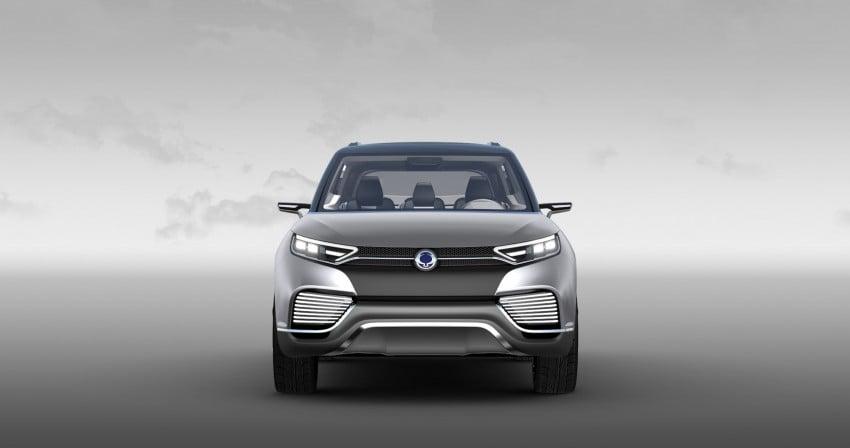 SsangYong XLV crossover concept gets Geneva debut Image #232668