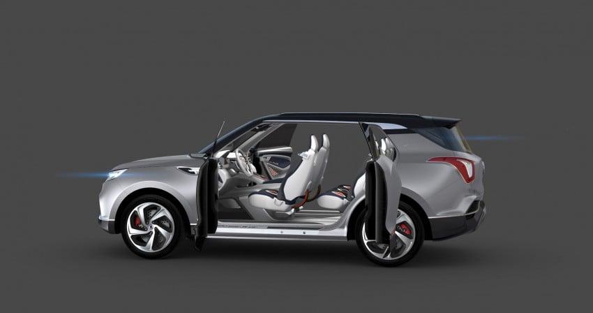 SsangYong XLV crossover concept gets Geneva debut Image #232667