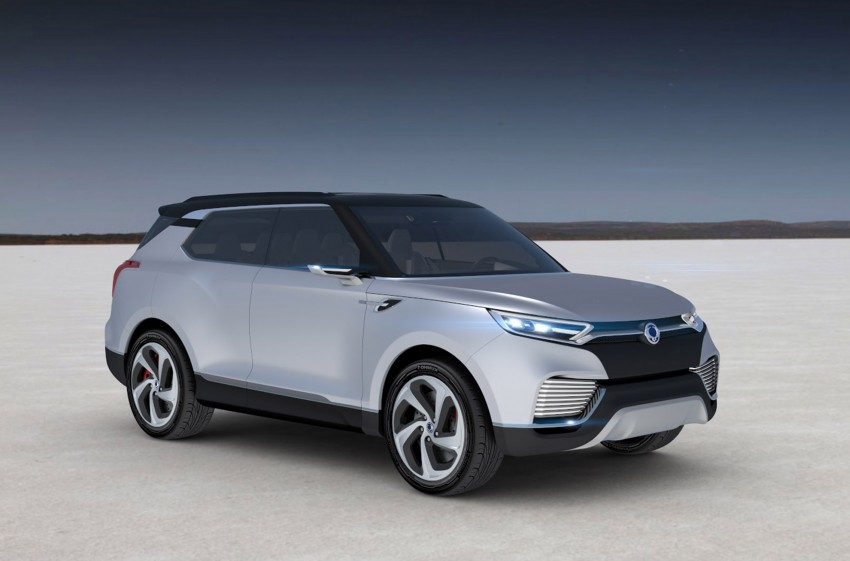 SsangYong XLV crossover concept gets Geneva debut Image #232665