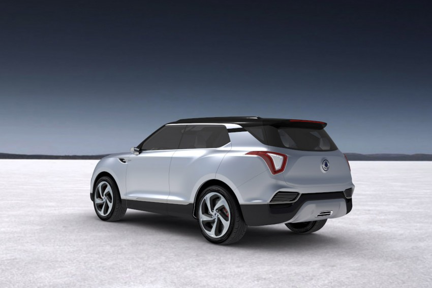 SsangYong XLV crossover concept gets Geneva debut Image #232664