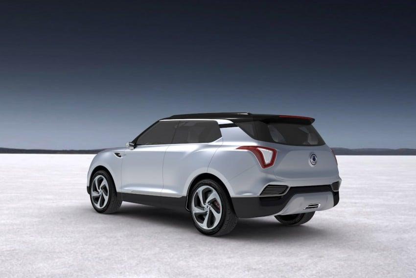 SsangYong XLV crossover concept gets Geneva debut Image #232664