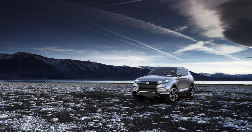 SsangYong XLV crossover concept gets Geneva debut Image #232661