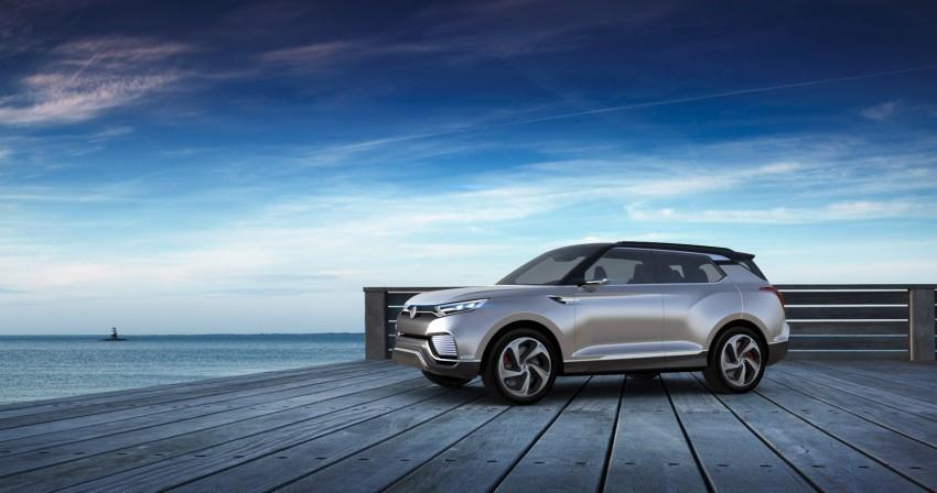 SsangYong XLV crossover concept gets Geneva debut Image #232660