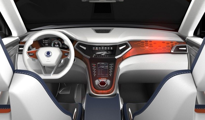 SsangYong XLV crossover concept gets Geneva debut Image #232659