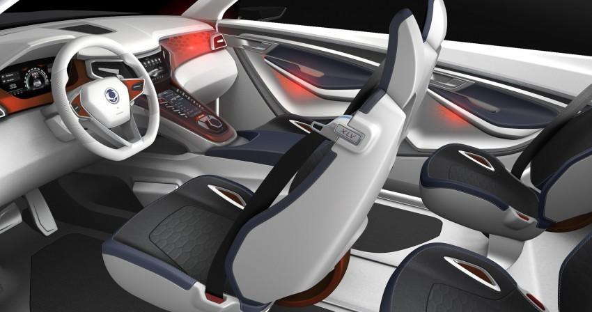 SsangYong XLV crossover concept gets Geneva debut Image #232656