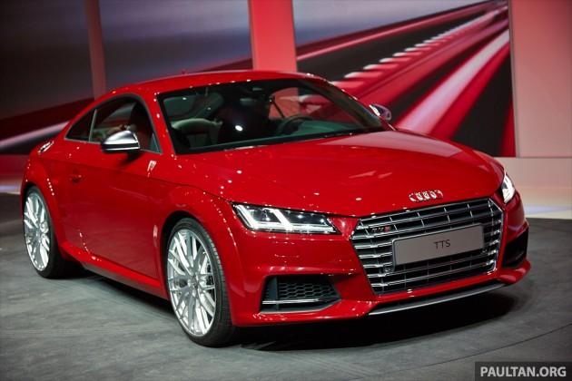 New Audi TT And TTS Make Their Debut At Geneva - New audi tt