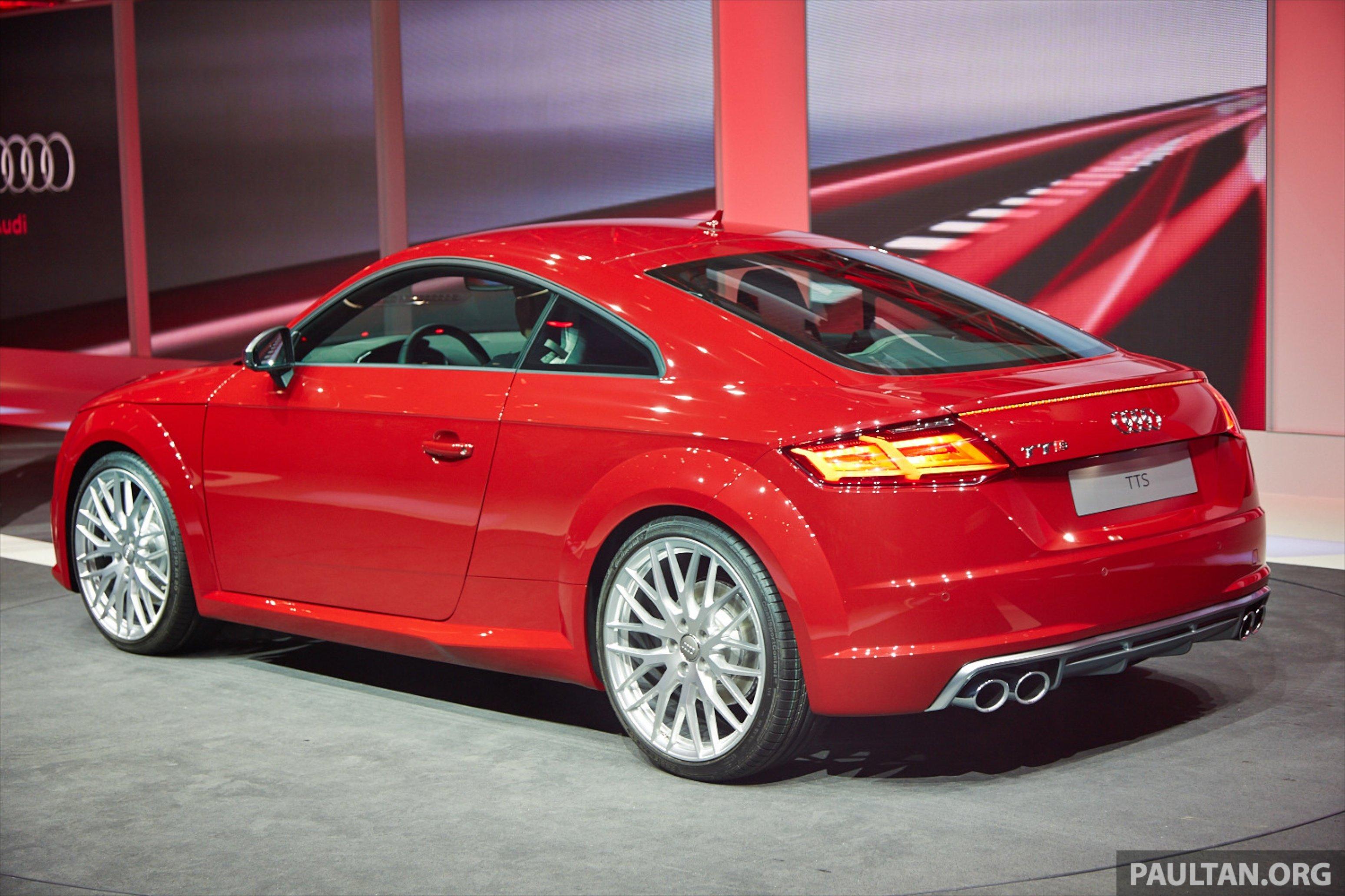 New Audi Tt And Tts Make Their Debut At Geneva Paul Tan