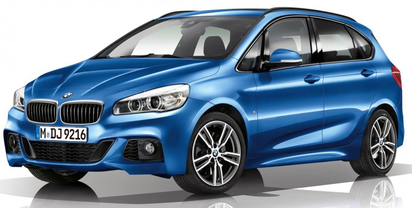 BMW 2 Series Active Tourer with M Sport package Image #237872