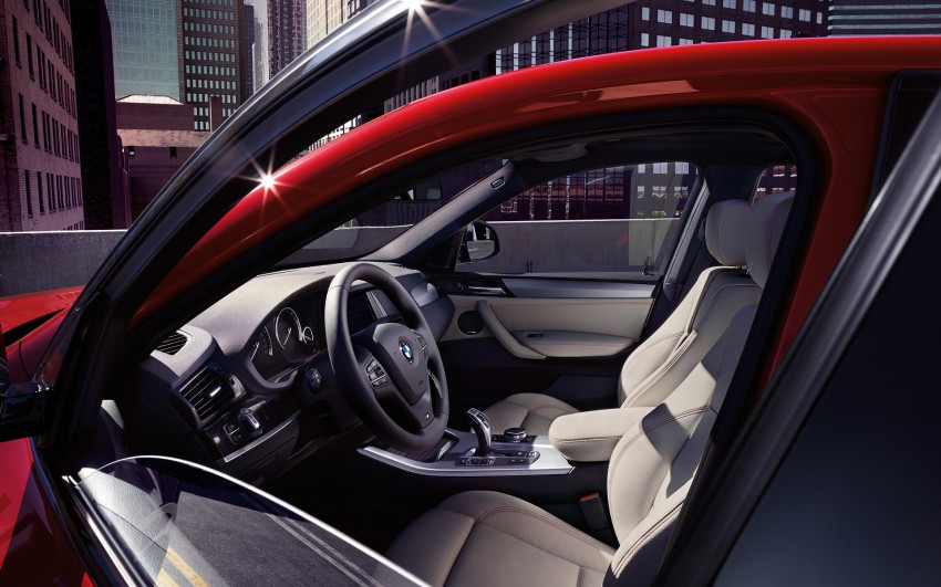 F26 BMW X4 unveiled – X3 gets the 'coupe' treatment Image #233711