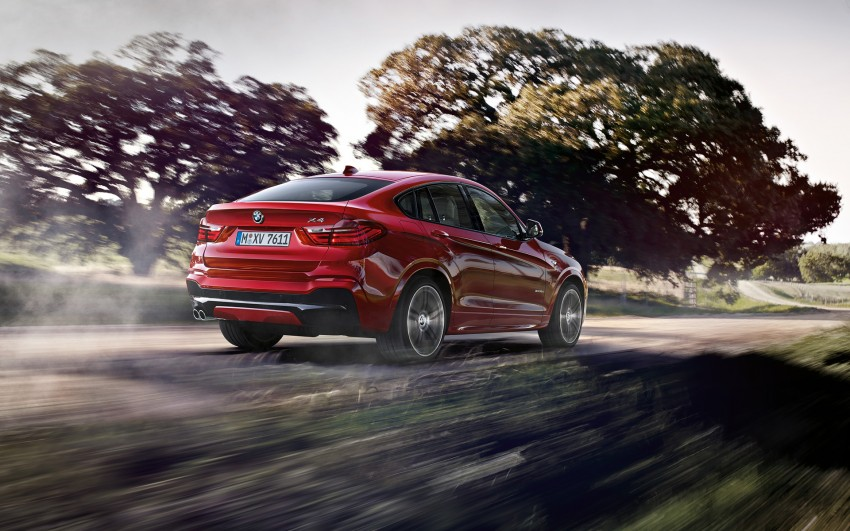 F26 BMW X4 unveiled – X3 gets the 'coupe' treatment Image #233713
