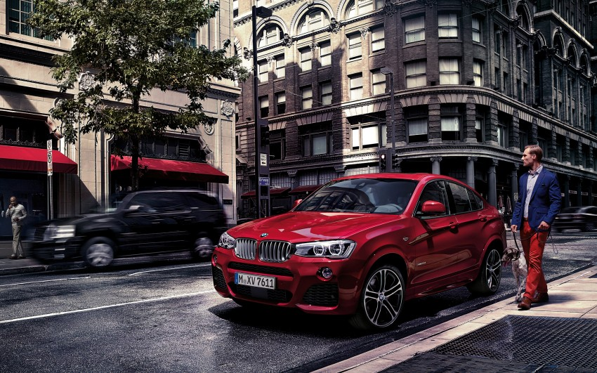 F26 BMW X4 unveiled – X3 gets the 'coupe' treatment Image #233714