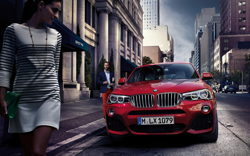 F26 BMW X4 unveiled – X3 gets the 'coupe' treatment Image #233715