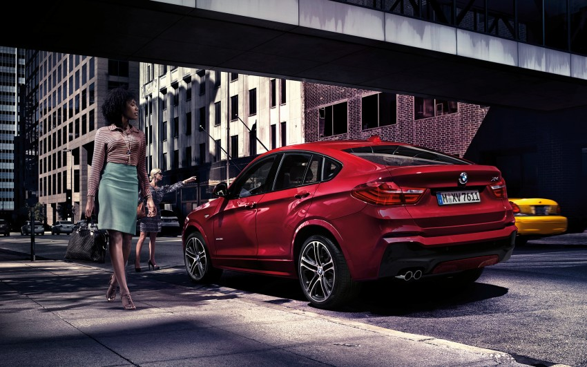 F26 BMW X4 unveiled – X3 gets the 'coupe' treatment Image #233716