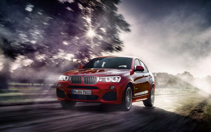 F26 BMW X4 unveiled – X3 gets the 'coupe' treatment Image #233717