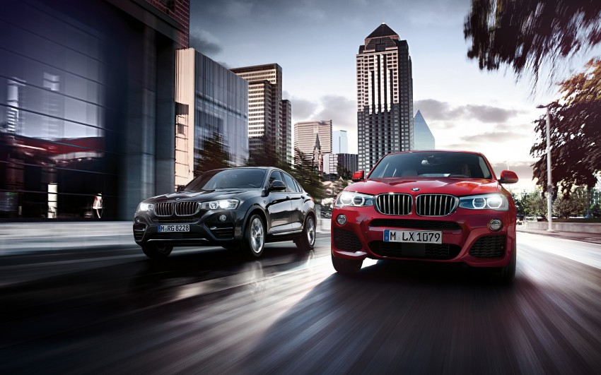 F26 BMW X4 unveiled – X3 gets the 'coupe' treatment Image #233718