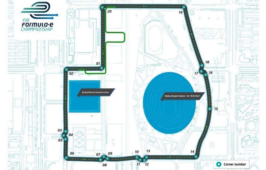 Formula E – wraps come off Beijing's circuit design Image #235200