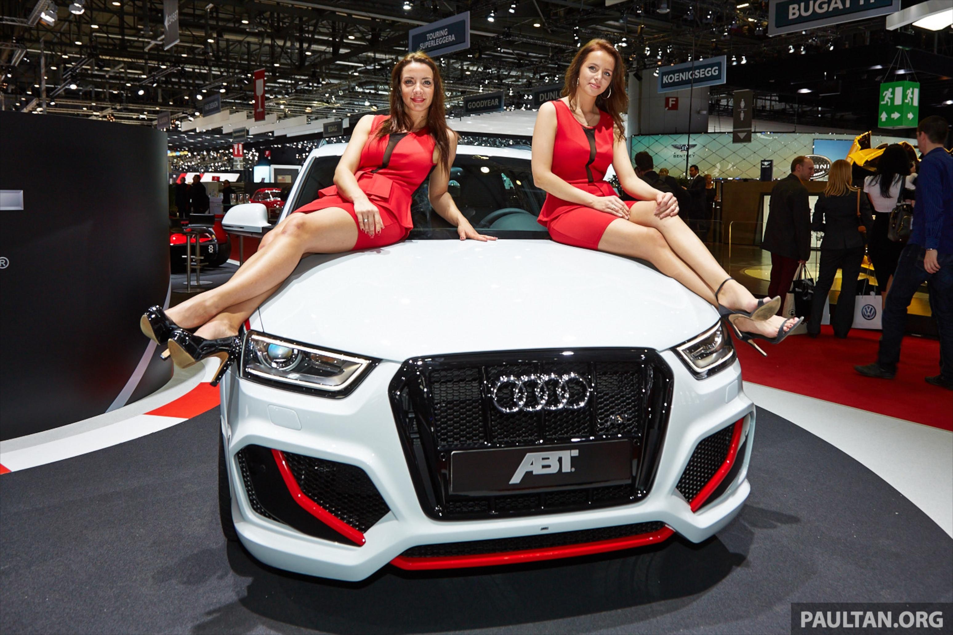 Geneva Car Show Girls
