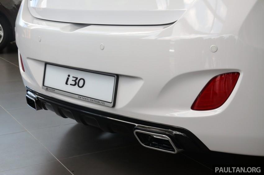 Hyundai i30 hatchback arrives in M'sia – RM128k-133k Image #237636