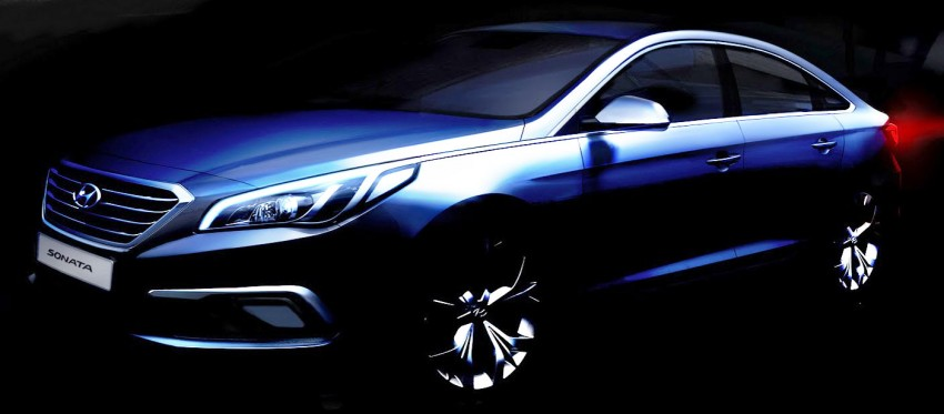 Next-gen Hyundai Sonata teased, reveal this month Image #232675