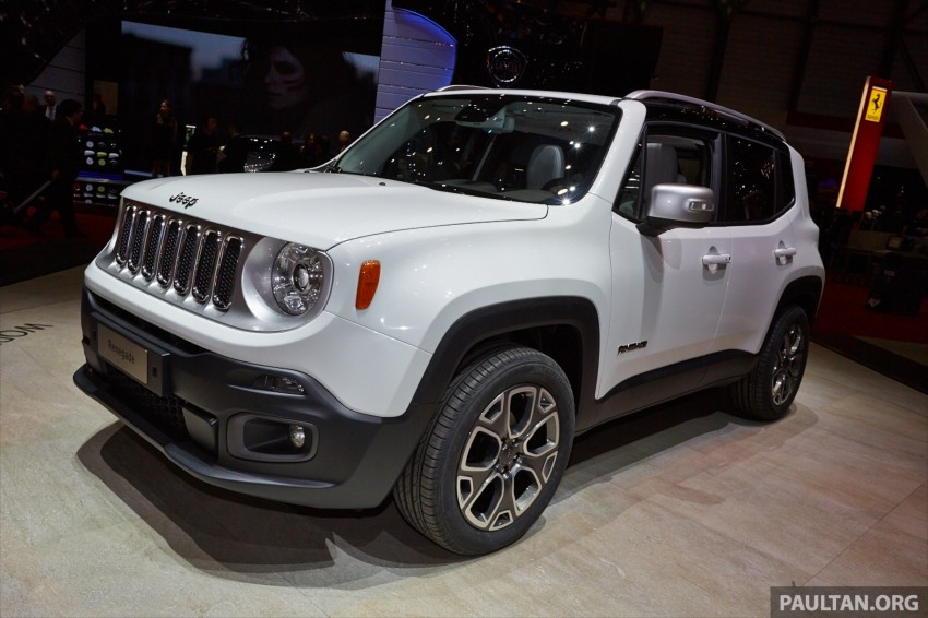Jeep Renegade – like a Jeep, but not as we know it Image #232928