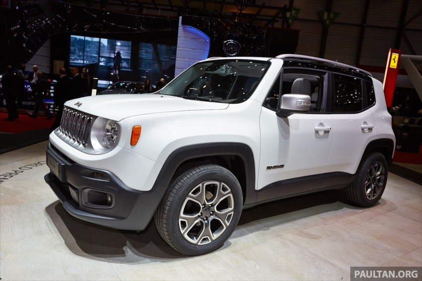 Jeep Renegade – like a Jeep, but not as we know it Image #232929