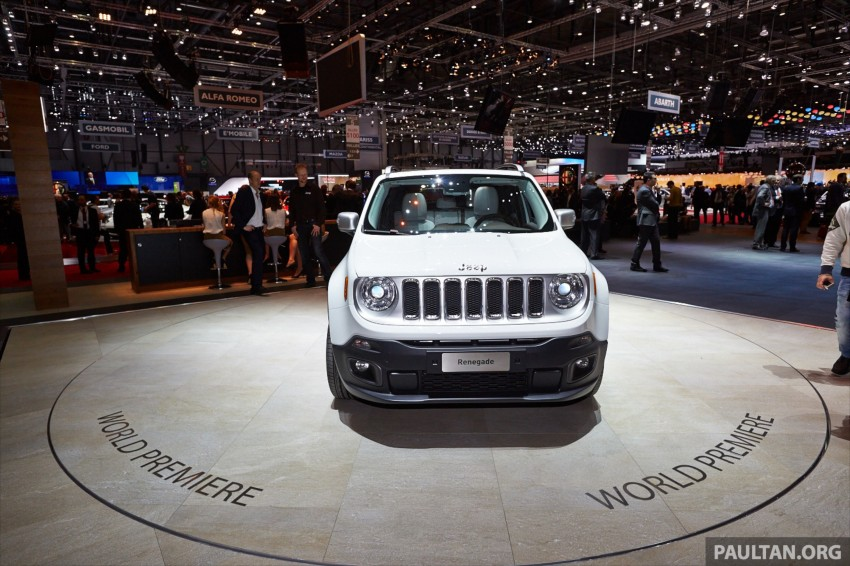 Jeep Renegade – like a Jeep, but not as we know it Image #232924