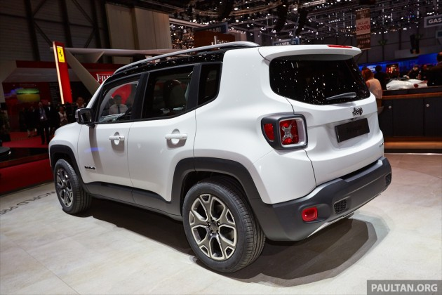 Jeep Renegade Like A Jeep But Not As We Know It Paultan Org