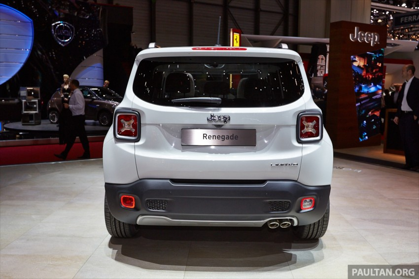 Jeep Renegade – like a Jeep, but not as we know it Image #232927