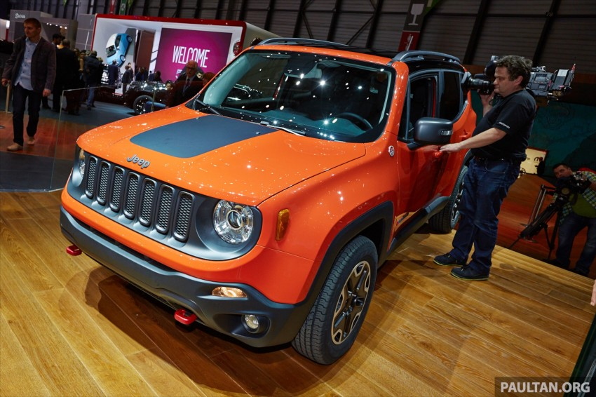 Jeep Renegade – like a Jeep, but not as we know it Image #232937