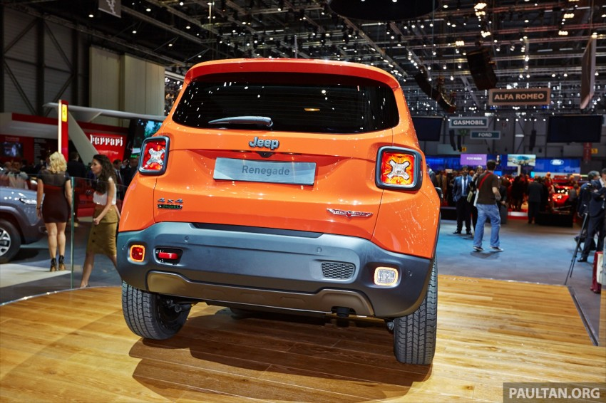 Jeep Renegade – like a Jeep, but not as we know it Image #232932
