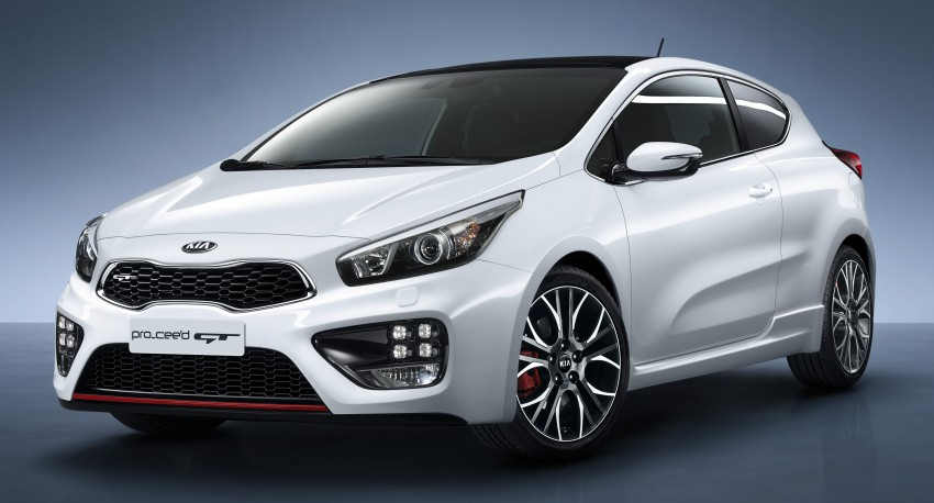 Kia pro_cee'd GT Oz-bound, only market out of Europe Image #236073