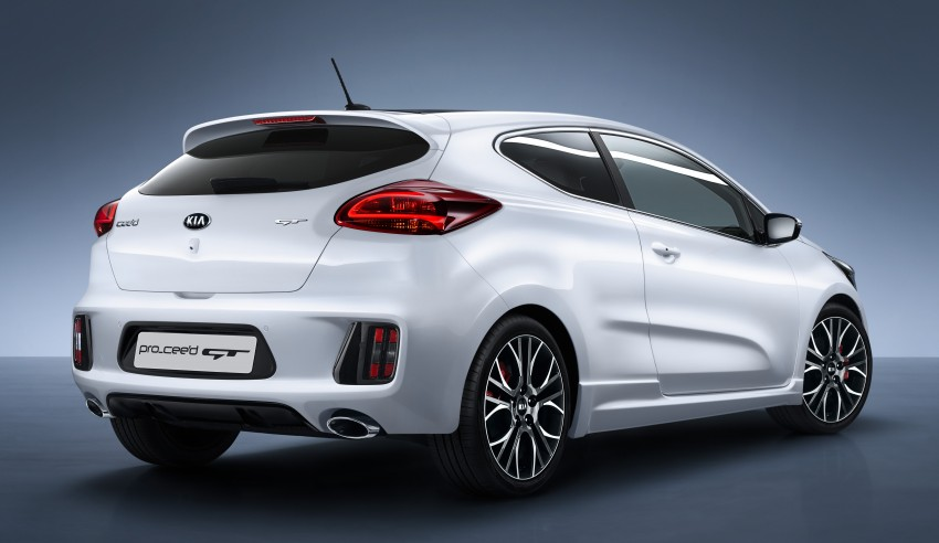 Kia pro_cee'd GT Oz-bound, only market out of Europe Image #236072