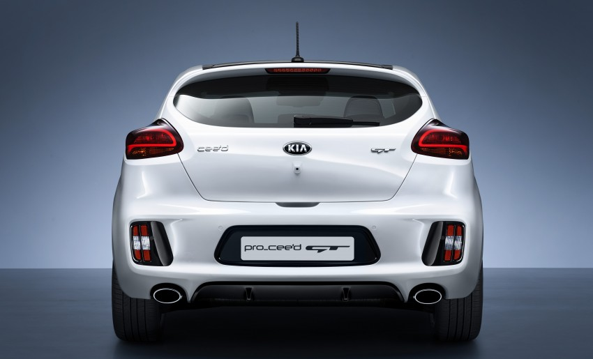 Kia pro_cee'd GT Oz-bound, only market out of Europe Image #236070