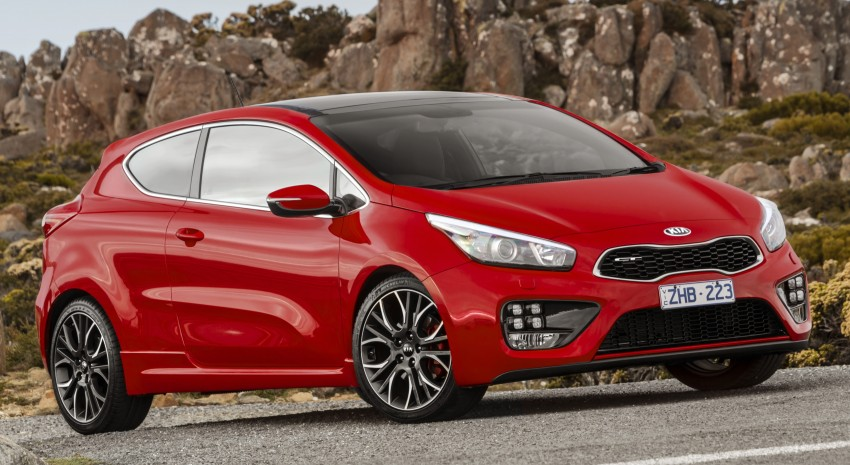 Kia pro_cee'd GT Oz-bound, only market out of Europe Image #236068