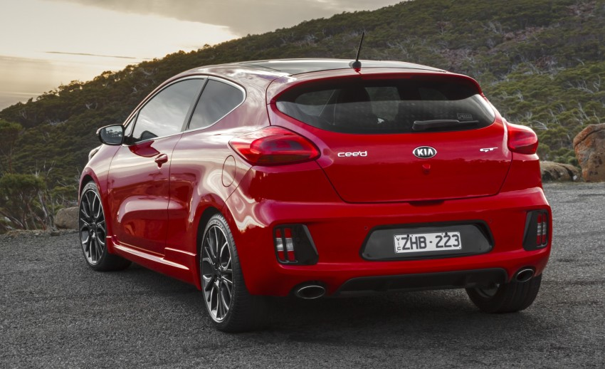 Kia pro_cee'd GT Oz-bound, only market out of Europe Image #236067