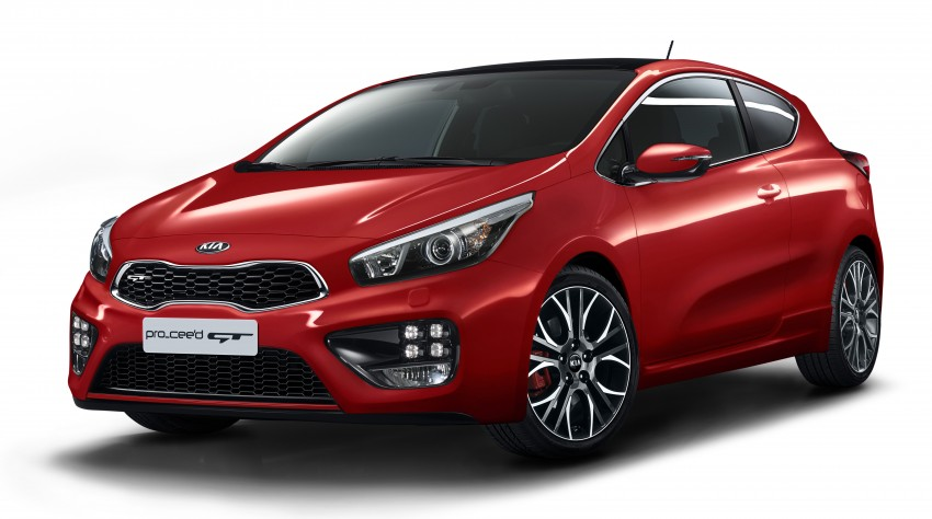Kia pro_cee'd GT Oz-bound, only market out of Europe Image #236066
