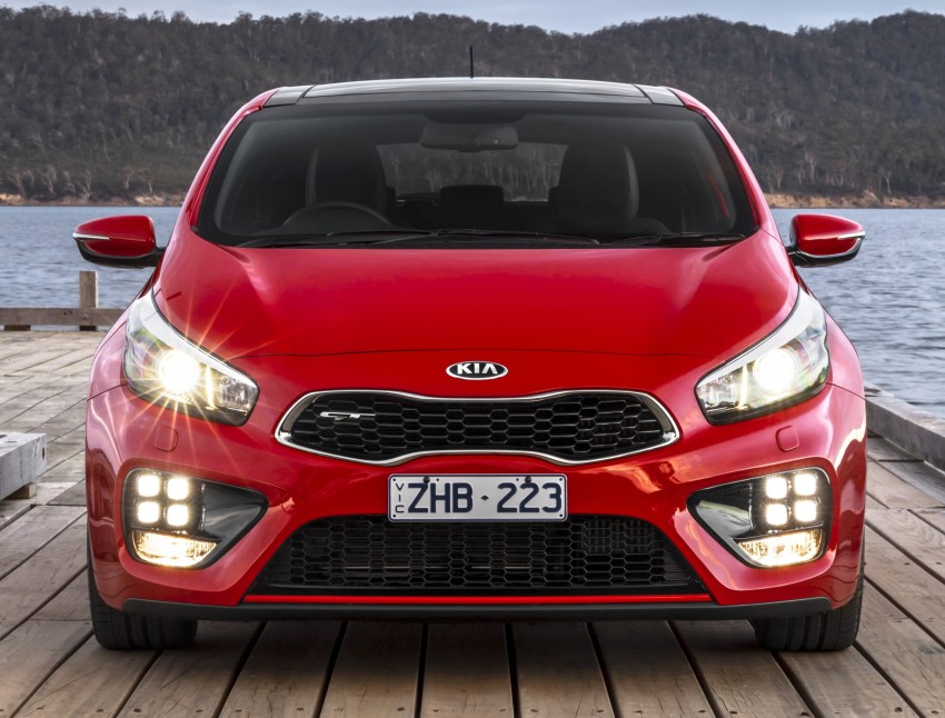 Kia pro_cee'd GT Oz-bound, only market out of Europe Image #236058