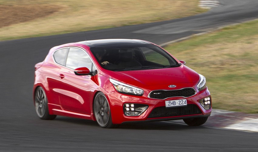 Kia pro_cee'd GT Oz-bound, only market out of Europe Image #236055