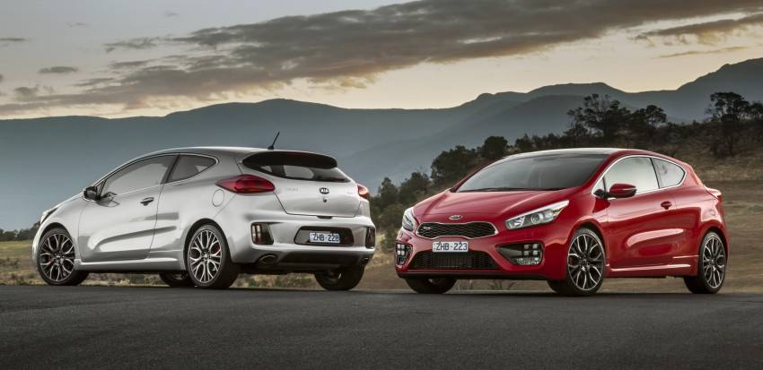 Kia pro_cee'd GT Oz-bound, only market out of Europe Image #236048