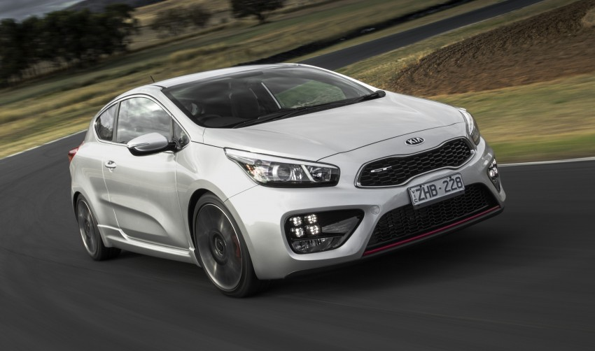 Kia pro_cee'd GT Oz-bound, only market out of Europe Image #236045