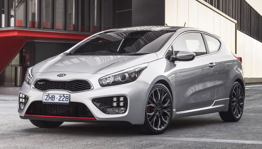 Kia pro_cee'd GT Oz-bound, only market out of Europe Image #236043