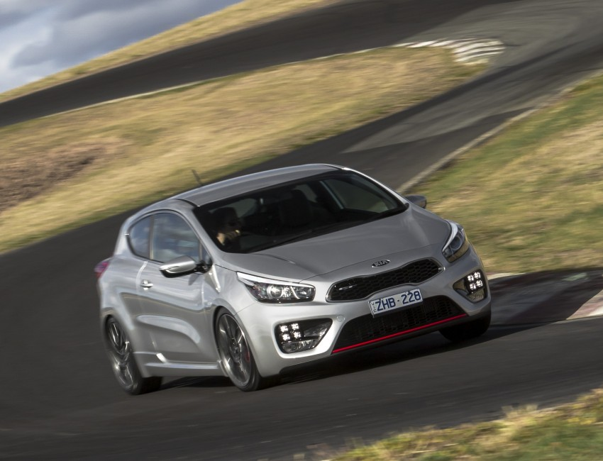 Kia pro_cee'd GT Oz-bound, only market out of Europe Image #236038