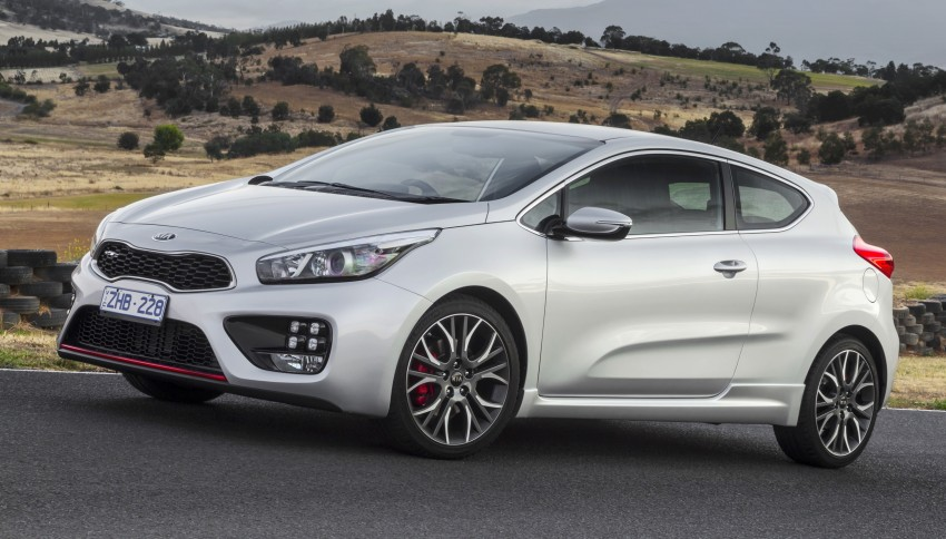 Kia pro_cee'd GT Oz-bound, only market out of Europe Image #236036