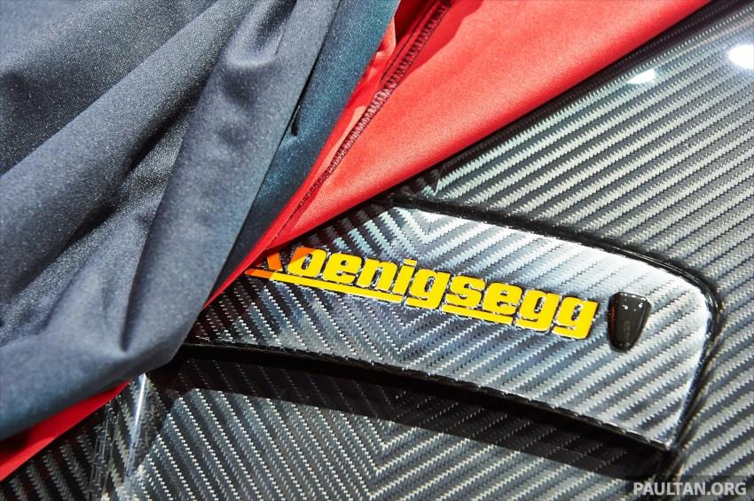 Koenigsegg One:1 – full details of 450 km/h megacar Image #232780