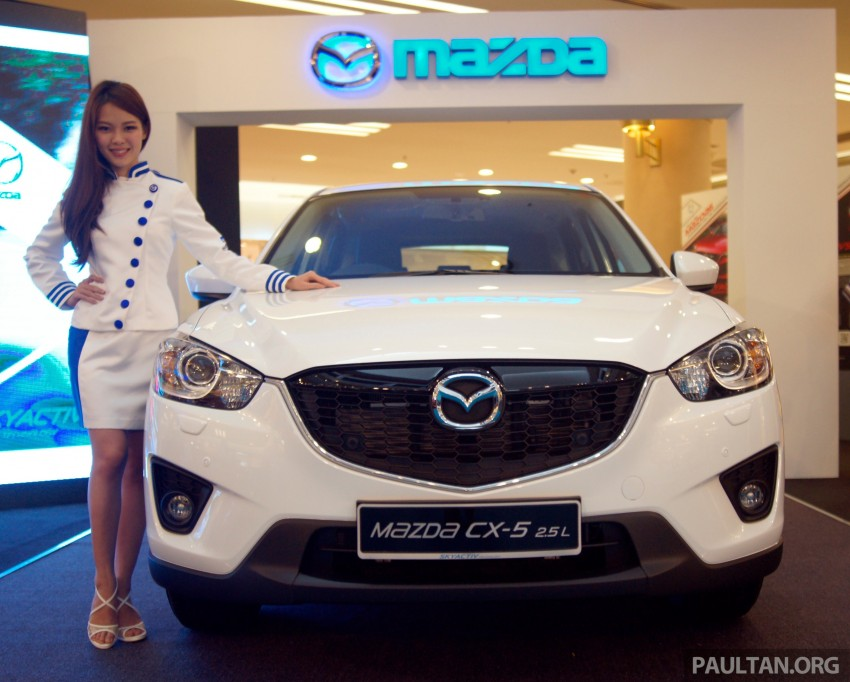 Mazda CX-5 2.5 launched: 2WD RM165k, 4WD RM175k Image #235918