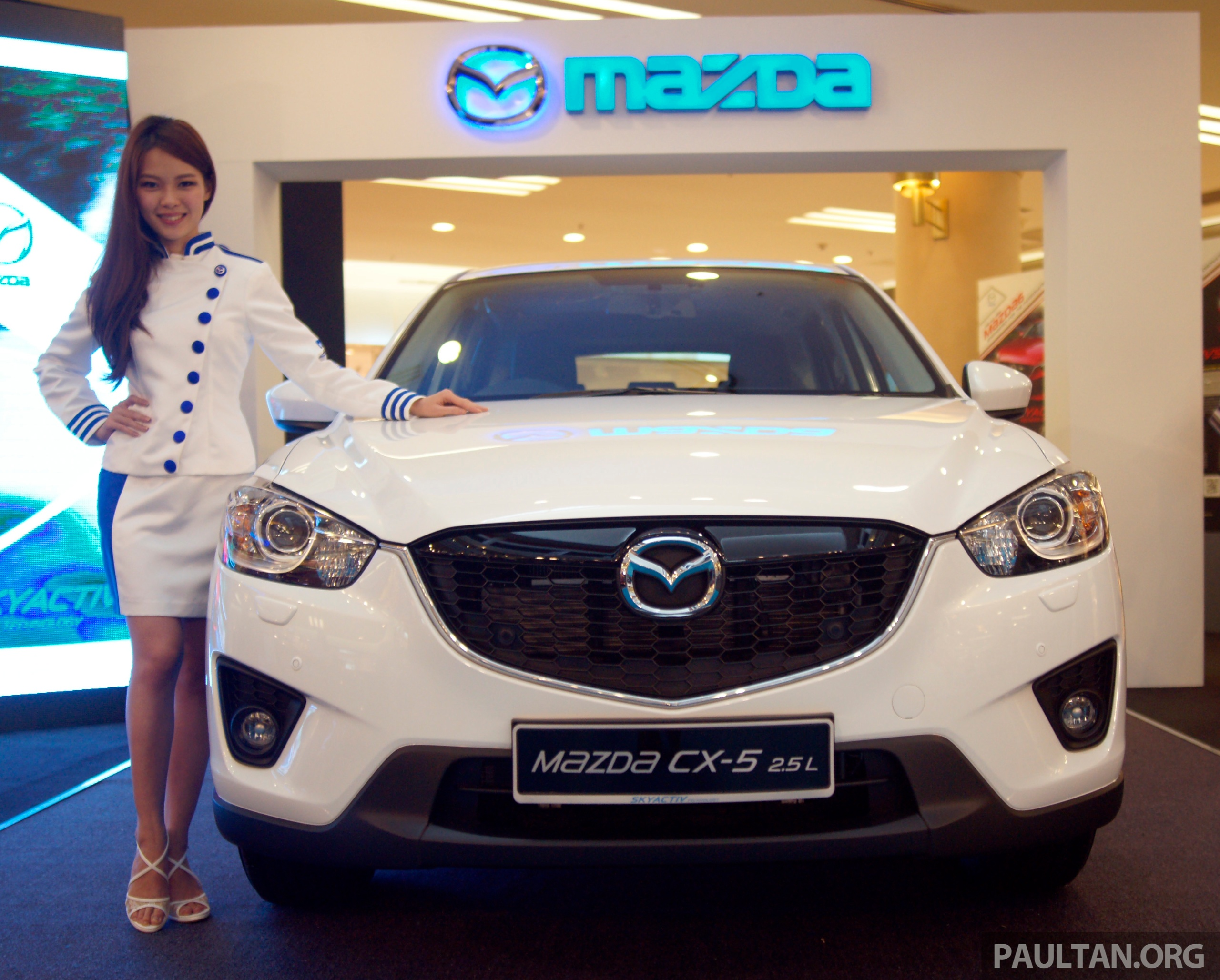 Mazda Cx >> Mazda CX-5 2.5 launched: 2WD RM165k, 4WD RM175k Paul Tan - Image 235918